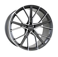 A970 MATTE-GRAPHITE-WITH-MACHINED-FACE FORGED Replica FORGED WID17434
