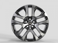 LR2241 GLOSS BLACK MACHINED FACE FORGED Replica FORGED WID27980