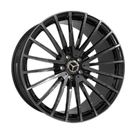 MR2183 GLOSS-BLACK-WITH-DARK-MACHINED-FACE FORGED Replica FORGED WID27124