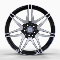 MR874 GLOSS-BLACK-WITH-MACHINED-FACE FORGED Replica FORGED WID27970