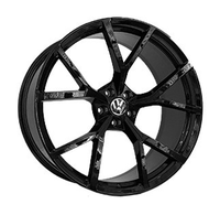 VV2105 GLOSS BLACK FORGED Replica FORGED WID28100