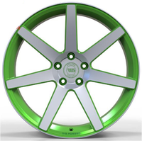 WS1245 MATTE GREEN WITH MACHINED FACE FORGED WS FORGED WID26231
