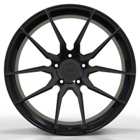 WS1253B GLOSS-BLACK-WITH-DARK-MACHINED-FACE FORGED WS FORGED WID28041