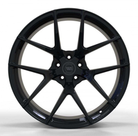 WS1361 SATIN BLACK FORGED WS FORGED WID28136