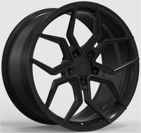 WS2109 MATTE BLACK FORGED WS FORGED WID26244
