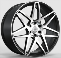 WS2129 MATTE BLACK WITH MACHINED FACE FORGED WS FORGED WID26268
