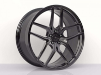WS2149 FULL BRUSH BLACK FORGED WS FORGED WID26484