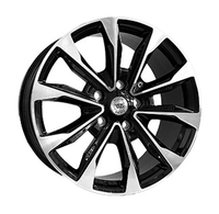 WS2155 GLOSS BLACK WITH MACHINED FACE FORGED WS FORGED WID26451