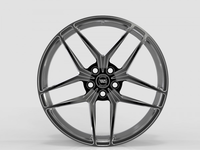 WS2242 FULL BRUSH BLACK FORGED WS FORGED WID28049
