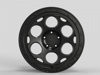 WS2248 MATTE BLACK FORGED WS FORGED WID28026