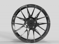 WS2250 FULL BRUSH BLACK FORGED WS FORGED WID28028