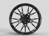 WS2251 GLOSS-BLACK FORGED WS FORGED WID28042