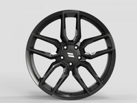 WS2255 SATIN BLACK FORGED WS FORGED WID28023