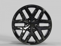 WS2278 GLOSS BLACK FORGED WS FORGED WID28137