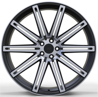WS587 SATIN BLACK WITH MACHINED FACE FORGED WS FORGED WID26262